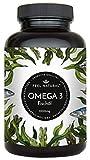 Omega 3 Fischl Kapseln - 365 Kapseln im Jahresvorrat - Premium mit 1000mg Fischl je Kapsel und den Omega 3 Fettsuren EPA und DHA  aus nachhaltigem Fischfang, ohne unerwnschte Zustze