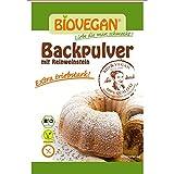 Bio Backpulver mit Reinweinstein, 4x17g