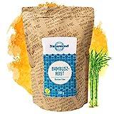 Naturmind Bambusfaser 200g   Natürlicher KETO Ballaststoff   Glutenfrei Bambusfasermehl   Low Carb   Ballaststoffreich   Vegan   Rohkostqualität   Ideal für Low Carb Diät oder zum Backen & Kochen