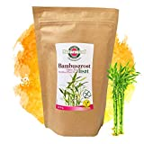 Naturmind Bambusfaser Mehl 200g / Perfekt Lower Carb Mehl zum Backen / Bindemittel