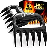 MOUNTAIN GRILLERS Pulled Pork Gabeln | Hochwertige Meat Claws für amerikanisches BBQ Pulled Pork | Fleischkrallen aus Kunststoff zum Zerteilen | Spülmaschinenfeste Bärentatzen | Geschenkidee