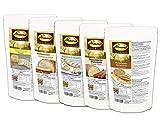 Dr. Almond Low Carb Paleo Keto Brot Backmischungen PROBIERPAKET'Frühstücksklassiker' glutenfrei sojafrei (5 Sorten)