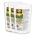 Dr. Almond Paleo Backmischung LCHF KOERNERWUNDER low-carb glutenfrei sojafrei NULL Kohlenhydrate! Das Körnerwunder für Brot, Brötchen & Knäckebrot (3er Pack)