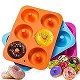 Dulabei 3 stücks Silikon Donutform Donut Backform Form...