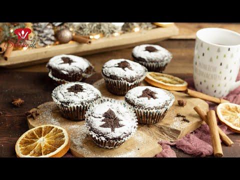 Glühweinmuffins 🧁 // KETO Rezept// Weihnachtsgebäck // Türchen #7 FoodAdventskalender 2020 #FOAK2020