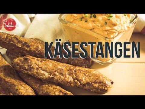 Käsestangen Low Carb und glutenfrei Brot backen - salala.de