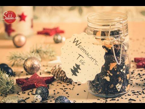Weihnachtstee selber machen | DIY Weihnachtsgeschenk Last Minute | Low Carb Getränk | salala.de