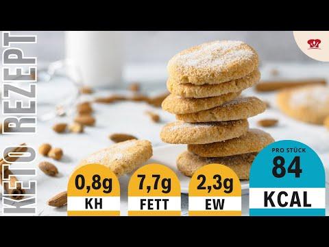 SNICKERDOODLES ohne Zucker 😋 // Zimtkekse ohne Mehl // Keto und Low Carb backen Rezept