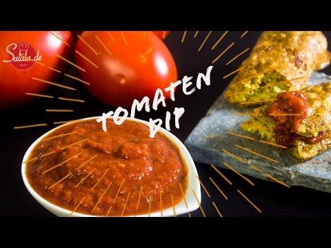 Tomaten Dip - Tomatensoße - schnell und einfach - Pizzasoße - salala.de