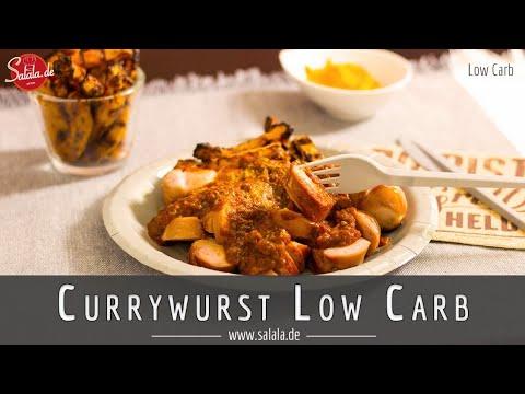 Currywurst selber machen Low Carb Rezept ohne Zucker