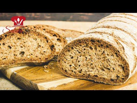 Walnuss Baguette Low Carb Brot zum Grillen I Rezept