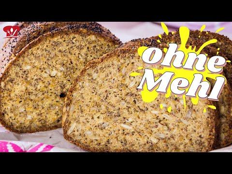 Das beste LOW CARB BROT 🍞 das du je essen wirst I Chia-Leinsamen-Hüttenkäse-Brot Rezept