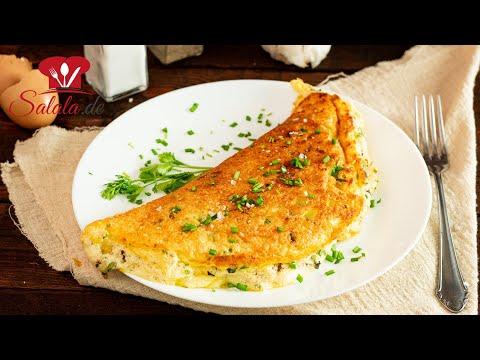 Luftiges Käse-Omelette 🧀 als Keto-Frühstück zum Eierfasten I Rezept