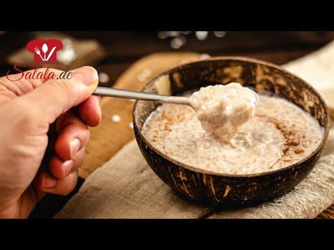 Keto MILCHREIS 🍚 aus Shileo Konjakreis mit Kokosmilch I Low Carb Rezept ohne Zucker