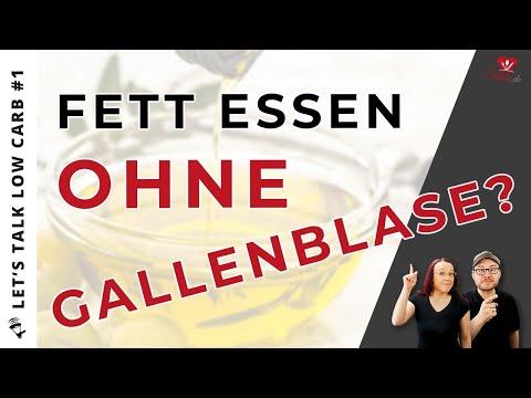 🧐SO kannst du FETT auch OHNE GALLENBLASE essen❗ Let's Talk Low Carb #1