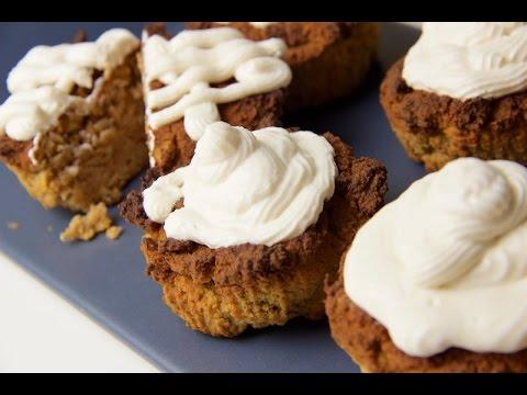 Kürbis Muffins, Cupcakes Low Carb nicht nur zu Halloween - salala.de
