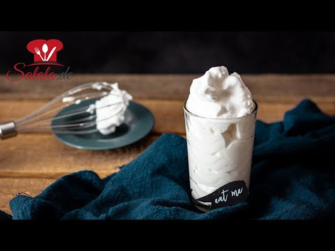 SO machst du MARSHMALLOW FLUFF 😍 OHNE Zucker ganz schnell und einfach I Low Carb Rezept
