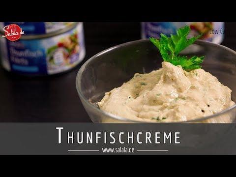 Thunfischcreme Rezepte Low Carb Aufstrich salala.de
