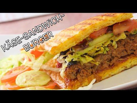 Käse Sandwich Burger Dings Low Carb - salala.de