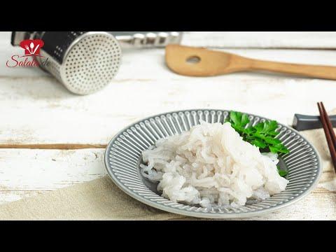 Konjak Nudeln selber machen 🍜 // KETO Rezept // aus Konjakmehl // selbst gemachte Low Carb Nudeln