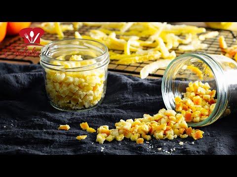 Orangeat 🍊 und Zitronat 🍋 OHNE Zucker einfach SELBER MACHE I Low Carb Rezept
