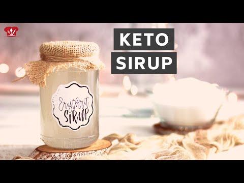 Sirup aus Erythrit OHNE Kristalle! 💎 // KETO Rezept // zuckerfrei
