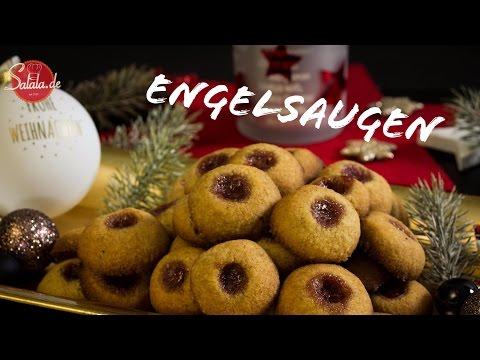 Husarenkrapfen - Engelsaugen - Low Carb backen glutenfrei zuckerfrei Weihnachtsbäckerei salala.de