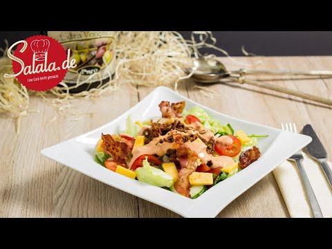 Big Mac Salat Rezept ohne Brot I Low Carb Partysalat salala.de