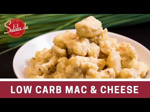 Mac and Cheese mit Blumenkohl Low Carb