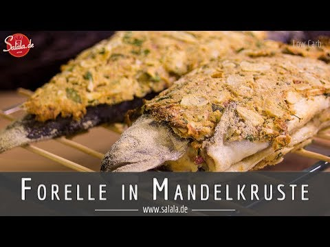 Forelle in Mandelkruste aus Königsmund I Game of Thrones Rezept I Low Carb