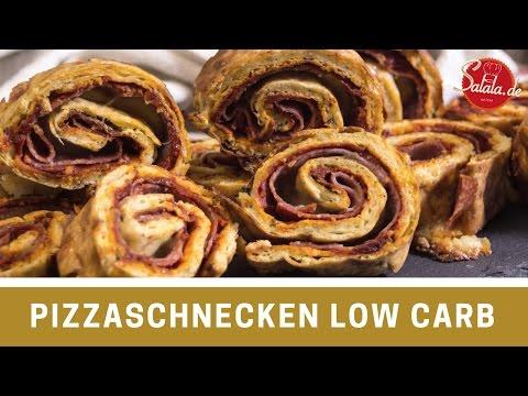 Pizzaschnecken - Pizzarolle - Low Carb glutenfrei - World of Pizza