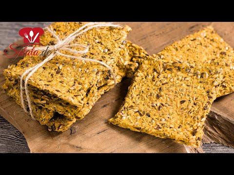 Knäckebrot selber machen Low Carb Rezept V3 ohne Mehl und glutenfrei