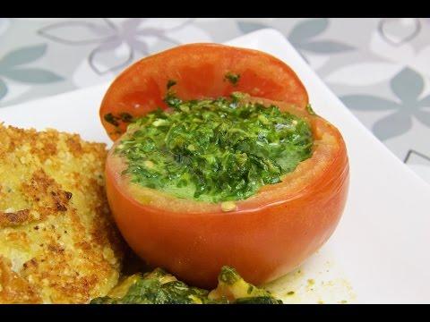 Gefüllte Tomaten - Low Carb Beilage - salala.de