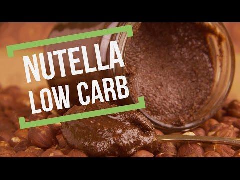 Nutella Low Carb - Nuss Nougat Creme - glutenfrei - salala.de