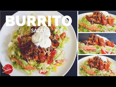 Burrito Salat - Low Carb kochen - salala.de