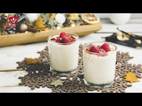 Macadamiamousse 🍮 // KETO Rezept // Veganes Dessert Rezept zu Weihnachten 🎄