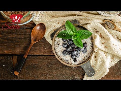 KETO Porridge 🥣 aus Leinsamen und Chia Samen I Low Carb Frühstücksbrei Rezept