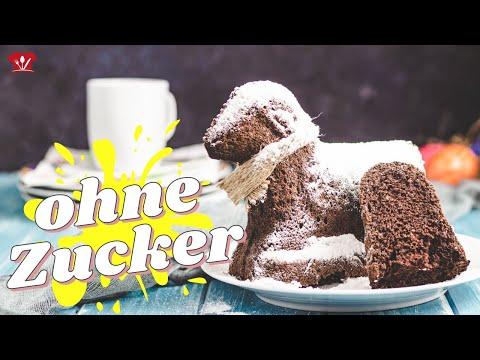 Schoko Osterlamm 🐏 // KETO Rezept // einfach selbst ohne Zucker und Mehl backen