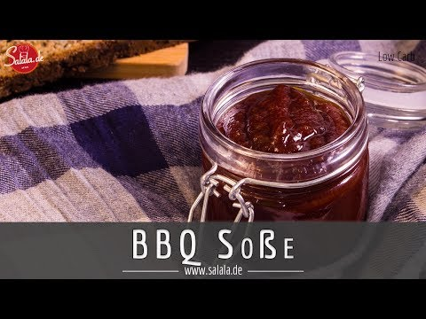BBQ Soße selber machen ohne Zucker Low Carb