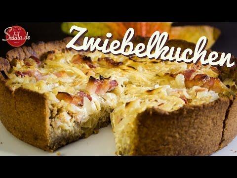 Zwiebelkuchen selber machen glutenfrei und Low Carb kochen & backen - salala.de