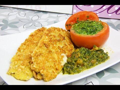 Fischfilet in Parmesan-Mandel-Kruste Low Carb - salala.de