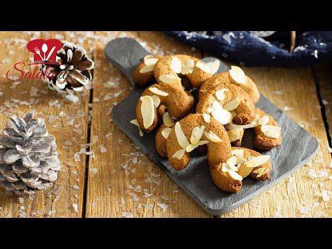 Aprikosen-Mandelhörnchen 🎄 PLÄTZCHEN 🍪 ohne Zucker mit Aprikosenkernmehl I Low Carb Rezept