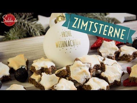 Zimtsterne backen - Low Carb backen - glutenfrei - salala.de - #Weihnachtsbäckerei