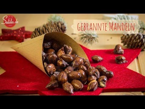 gebrannte Mandeln mit Xylit (Xucker) - zuckerfrei - Low Carb Weihnachten - salala.de