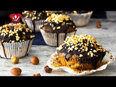 Haselnuss Muffins Low Carb Rezept ohne Zucker zum Muttertag