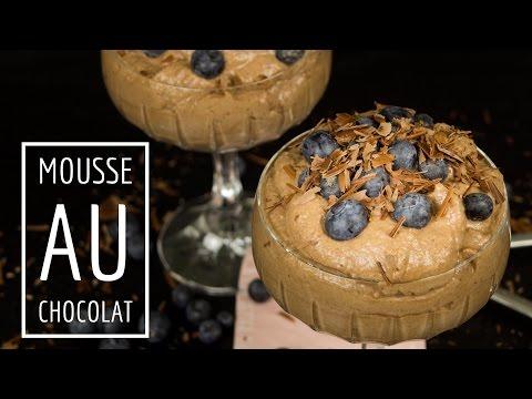 Mousse au Chocolate - Low Carb - zuckerfrei - schnell und einfach gemacht - salala.de