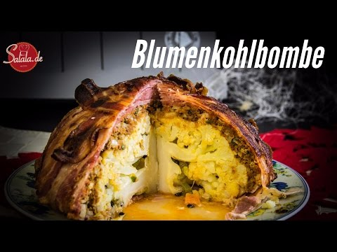 Blumenkohlbombe - Low Carb Hauptgericht - salala.de