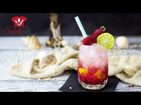 sommerlicher Genuss ohne Reue 🍹 Raspberry Kiss alkoholfreier Low Carb Cocktail