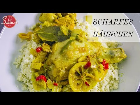 Scharfes Hähnchen burmesische Art - Low Carb Hauptgericht - salala.de aus Myanmar oder Burma