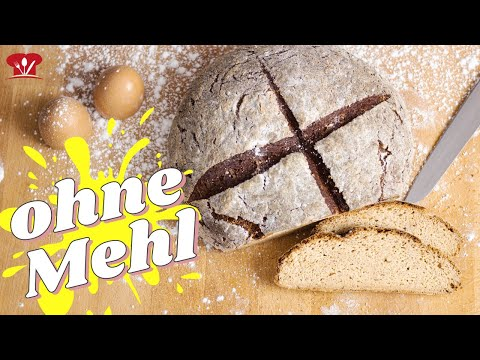 Buttermilchbrot ohne Mehl 🍞 // KETO Rezept // Nur 2,4 g KH pro Scheibe!
